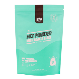 The Friendly Fat Company C8 MCT-Pulver med Acacia fiber 260g