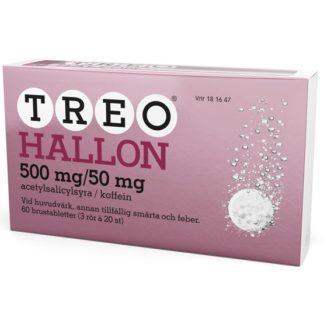 Treo Hallon, brustablett 500 mg/50 mg 3 x 20 st