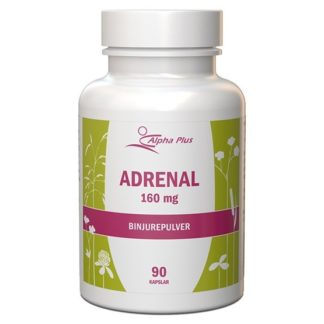 Alpha Plus Adrenal 160 mg 90 kapslar