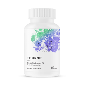 Thorne Basic Nutrients IV 180 kapslar