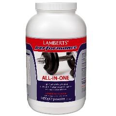 ALL IN ONE - Protein - Kolhydrater - Glutamin - Kreatin - BCAA 1450g