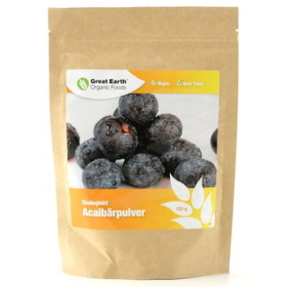 Acaibärpulver 125g EKO Raw Food Vegan
