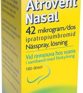 Atrovent Nasal nässpray 42 mikrogram/dos 180 st
