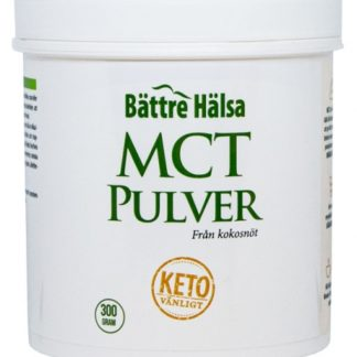 Bättre Hälsa MCT Pulver 300 g