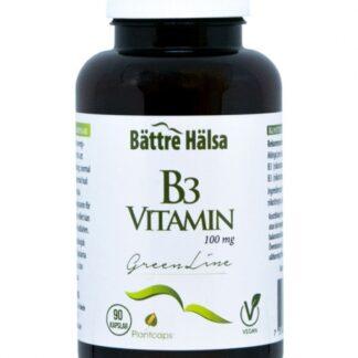 B3 100 mg Green Line