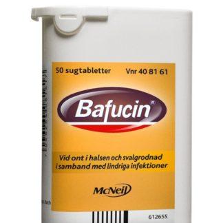 Bafucin 50 sugtabletter