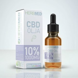 CBD Olja - Herbmed 10% (1000mg)