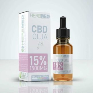CBD Olja - Herbmed 15% (1500mg)