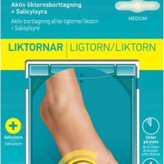 Compeed Aktiv Liktornsborttagning + Salicylsyra 6 st