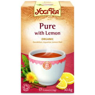 Detox Lemon Te 17p KRAV EKO