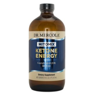 Dr Mercola Mitomix Ketone Energy C8 MCT Olja 473 ml