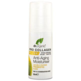 Dr Organic Kollagen Probiotika Anti-agingkräm 50 ml