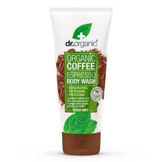 Dr. Organic Body Wash Espresso Fresh Mint - 200 ml