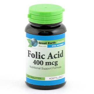 Folic Acid 400mcg 250t