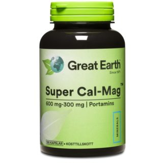 Great Earth Super Cal-Mag 600-300 120 kaps