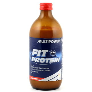 Multipower Fit protein strawb 500ml