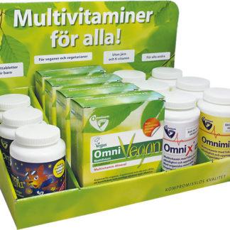 Multivitaminer för alla Displayställ 1st