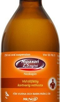 Nipaxon oral suspension 2,5 mg/ml 250 ml