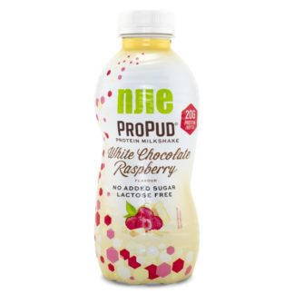 Njie ProPud Protein Milkshake White Chocolate Rasberry 330 ml