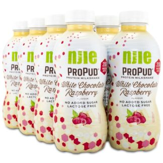 Njie ProPud Protein Milkshake White Chocolate Rasberry 8-pack