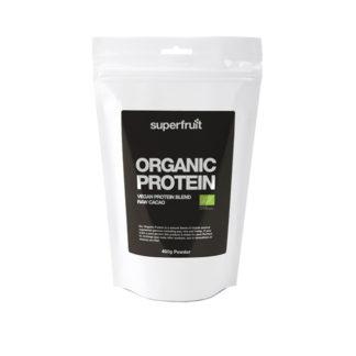 Organic Protein Powder 400g Raw Cacao