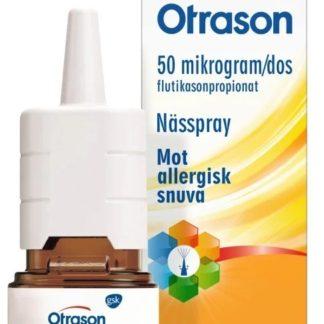 Otrason nässpray 50 mg/dos 60 doser