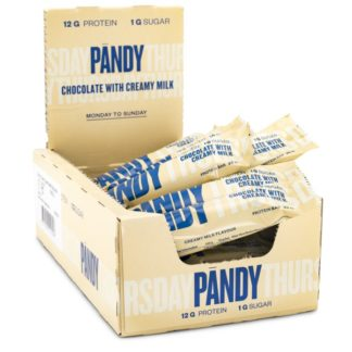 Pändy Candy Bar Chocolate with Creamy Milk 18-pack