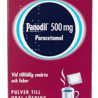 Panodil pulver till oral lösning 500 mg 12 dospåsar