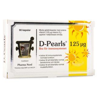 Pharma Nord D-Pearls 125 Ug 90 kaps
