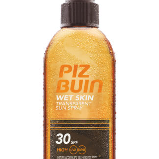 Piz Buin SPF 30 Wet Skin Transparent Spray 150ml