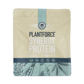 Plantforce Protein Synergy Vanilje - 400 Gram