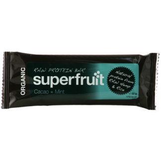 Raw protein bar kakao mint 50g EKO