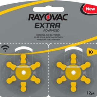 Rayovac EXTRA Advanced 10 GUL 12 st