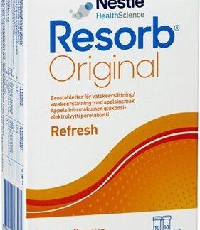 Resorb Original Apelsin brustabletter 20 st