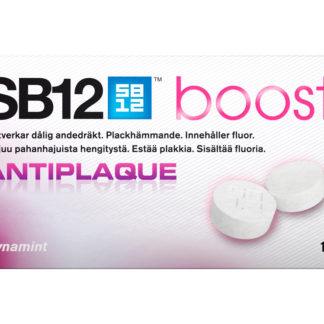 SB12 Boost Antiplaque tuggummi 10 st