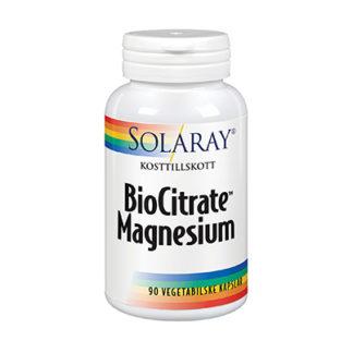 Solaray BioCitrate Magnesium 90k veg