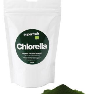 Superfruit Chlorellapulver - 200 Gram