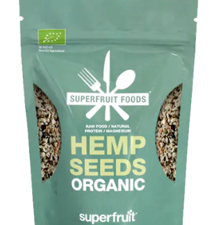 Superfruit Foods Hemp Seeds Organic 80 g