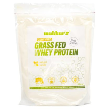Matters Grass-Fed Whey Protein Natural Vanilla 900 g