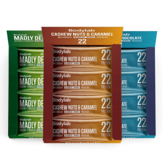 Protein bar 12-pack - Cashews Nuts & Caramel