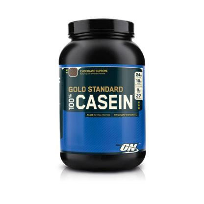100% Casein Gold Standard 909g - Cookies And Cream