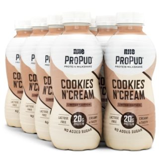 Njie ProPud Protein Milkshake Cookie & Cream 8-pack