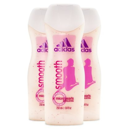 Adidas Woman Shower Gel 3-pack Smooth