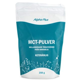 Alpha Plus MCT-pulver 250 g