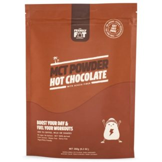 The Friendly Fat Company C8 MCT-pulver 260 g Chocolate