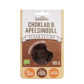 Clean Eating Choklad & Apelsinboll 105 g