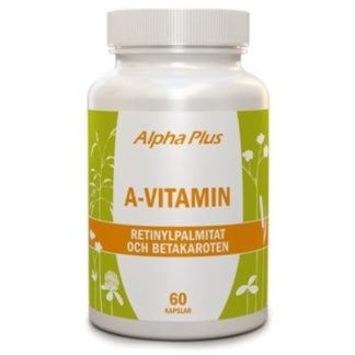Alpha Plus A-vitamin 60 kaps