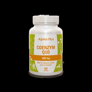 Alpha Plus Coenzym Q10 100 mg 60 kapslar