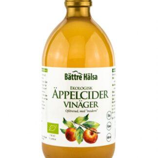 Bättre Hälsa Äppelcidervinäger 500 ml EKO