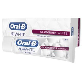 Oral-B 3D Tandkräm White Luxe Glamorous White 75 ml